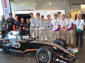 More F1 in Schools success for Trinity