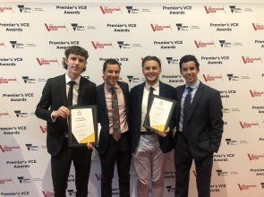Premier's VCE Awards for 2018