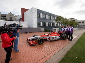 Team Evolve revved up ahead of F1 in Schools World Championship