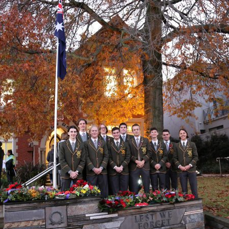 ANZAC Day Students