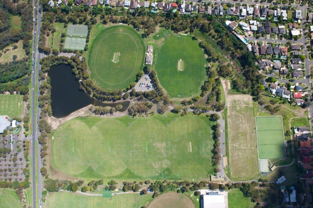 The Bulleen Playing Fields